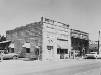 Grocery Store and Forreston National Bank