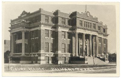 Dallam County Courthouse ca.1930