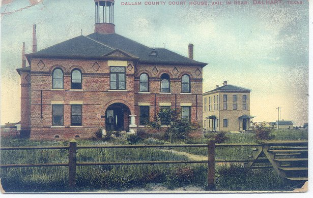 Dallam County Courthouse ca.1910