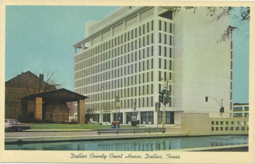 Dallas County Courthouse 1966