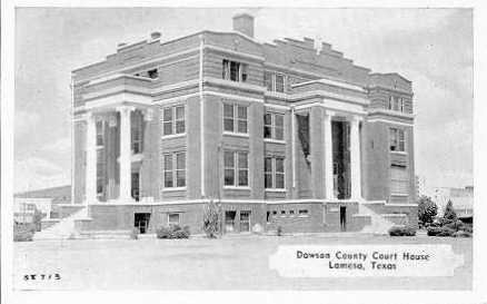Dawson County Courthouse 1916