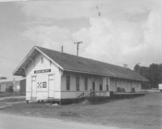 Missouri-Pacific Depot