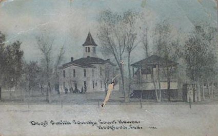 Deaf Smith County Courthouse ca.1905