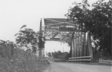 Front of Clearfork of the Brazos Bridge