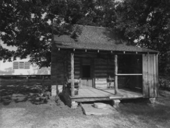 Panter Branch Post Office; Elmore H. Snider Cabin