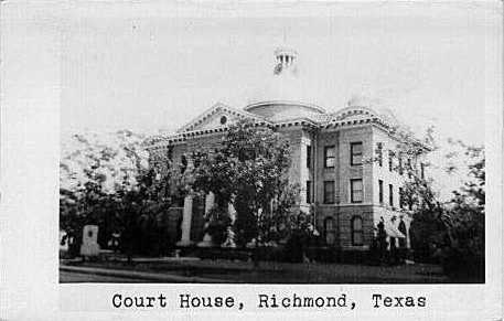 Fort Bend County Courthouse 1908