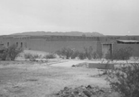Front of Fort Leaton