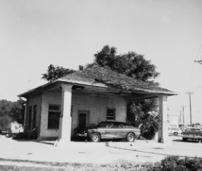 Front of Gas Station