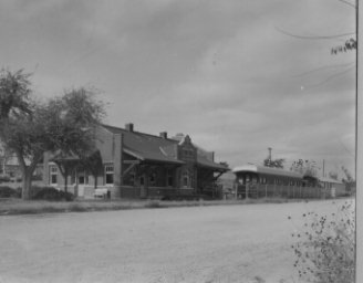 Front of Santa Fe Railway Station