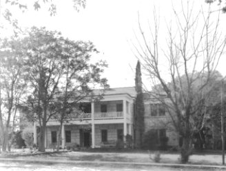 Front of Old Carmichael Home