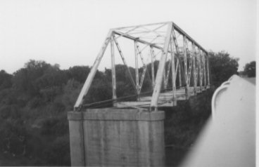 Front of Abandoned Bridge