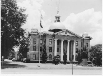 Front of Fort Bend County Courthouse