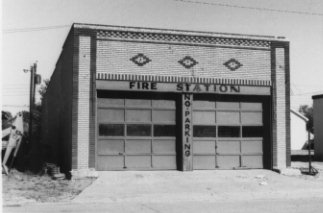 Front of Turkey Fire Station