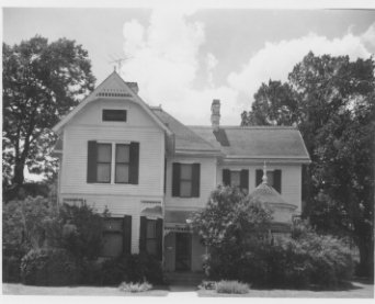 Front of Penn-Allen Home