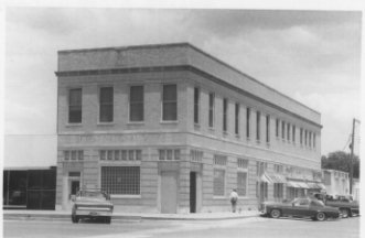 FIRST NATIONAL BANK & MASONIC LODGE