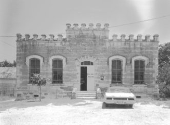 W Elevation Old Bandera County Jail