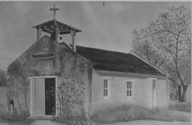 Front of La Lomita Mission