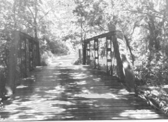 Walnut Creek Pony Truss Bridge